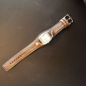 Fossil Womens Wristwatch on new leather band